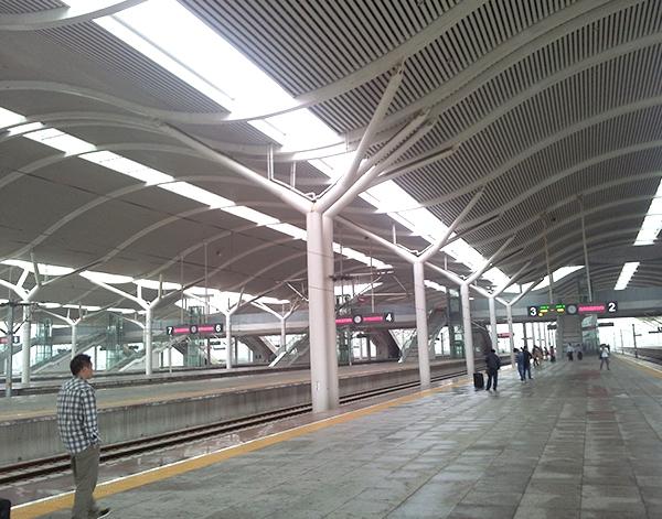京沪高铁徐州站雨篷