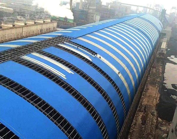 孟加拉国伊莱特钢铁厂管桁架