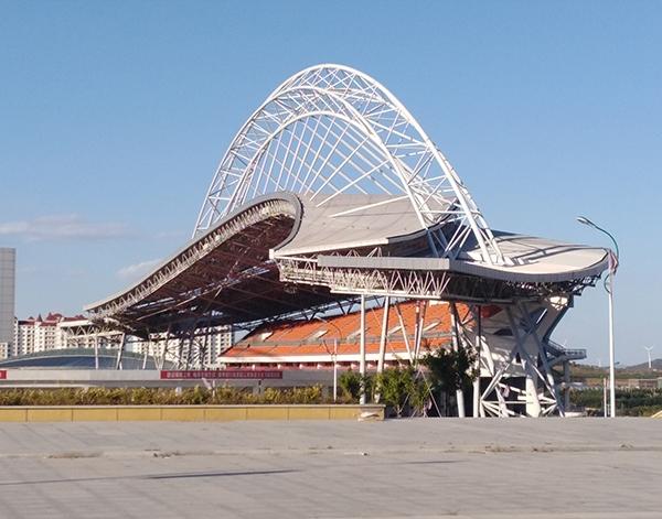 锦州体育场网架结构厂家安装