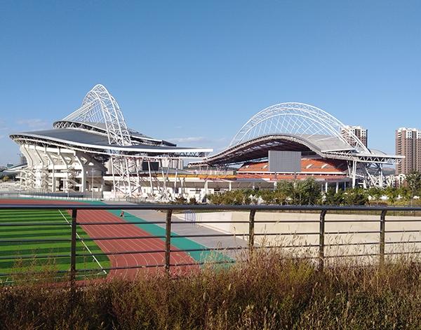 锦州体育场管桁架加工厂家安装