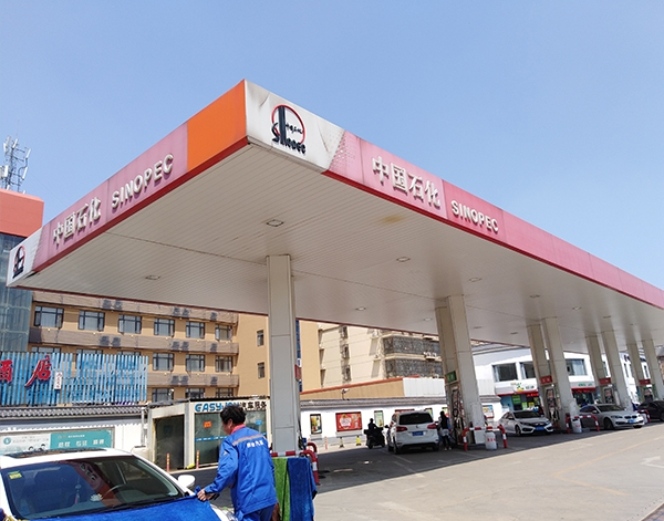 加油站网架结构厂家安装