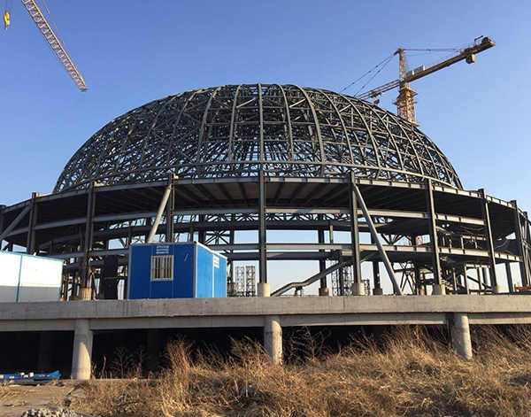 广州中山管桁架加工厂家游乐场安装