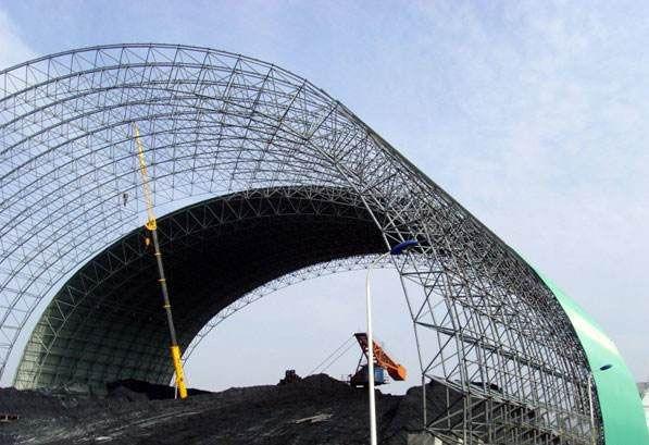 印尼电厂网架厂家安装