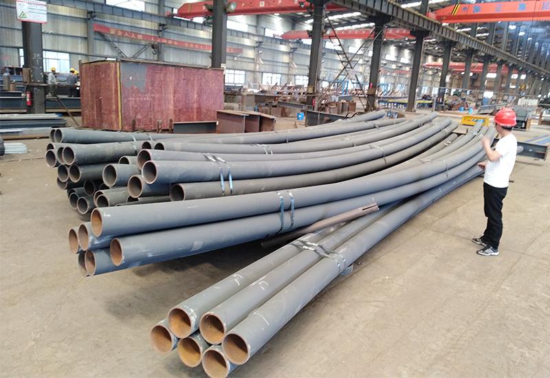 管桁架弯管-网架厂家