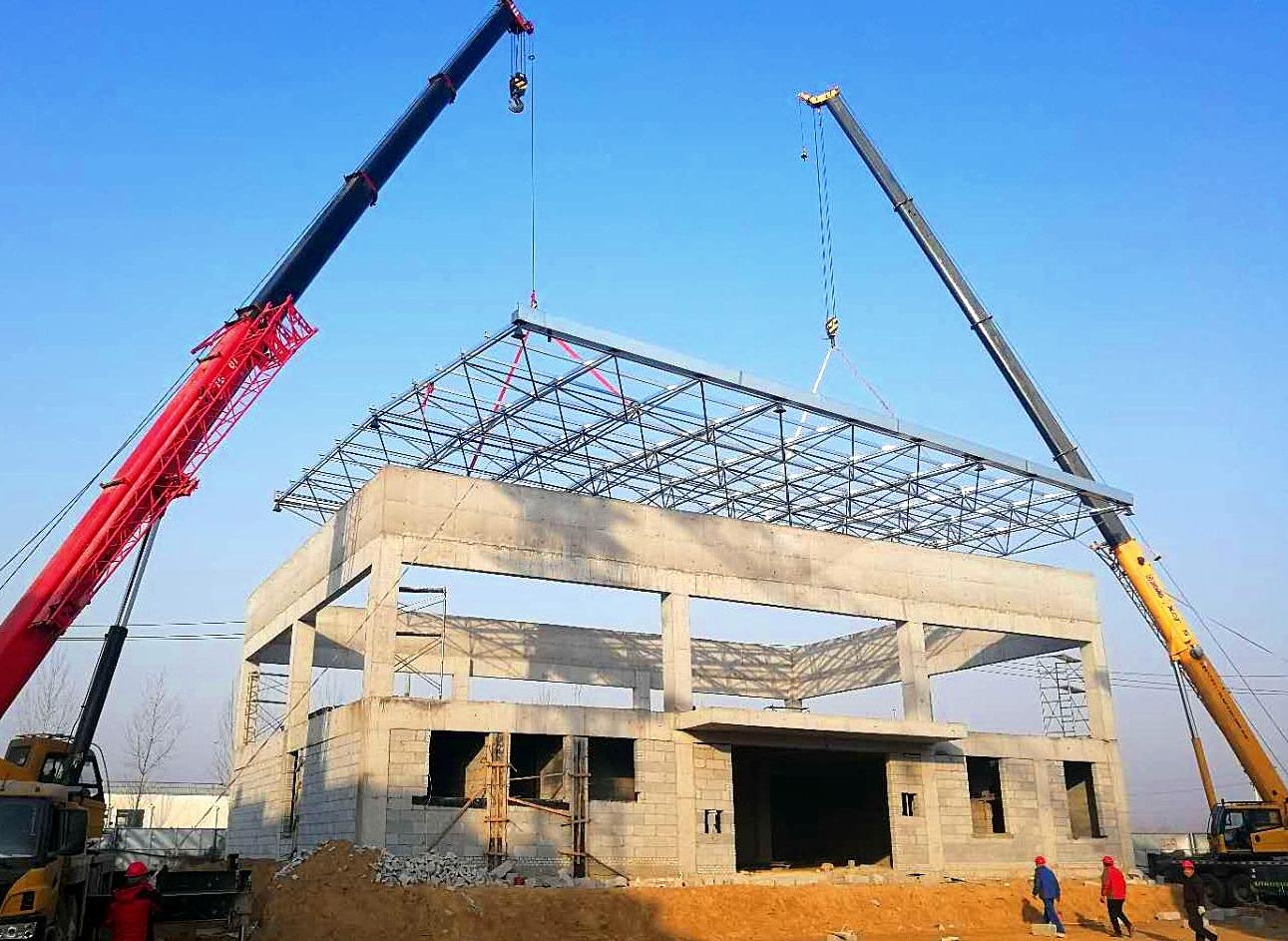 钢结构网架制作