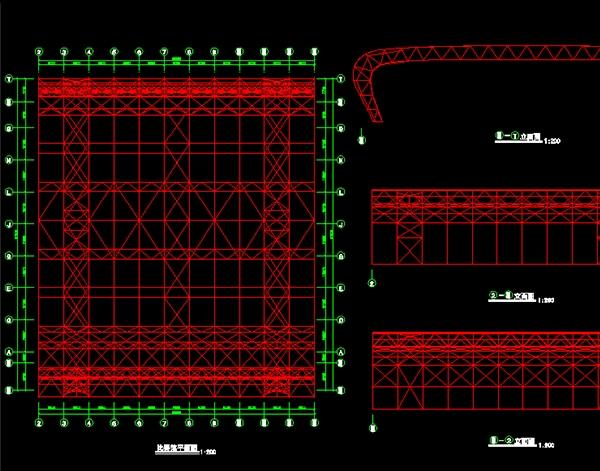 管桁架网架加工厂家设计