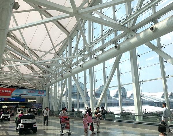 广州白云机场-网架厂家