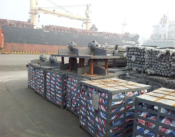 出口印尼网架生产厂家配件