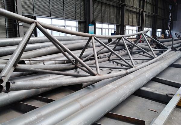 管桁架结构厂家拼装单元-网架厂家