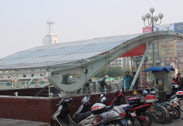 徐州商业步行街-网架厂家