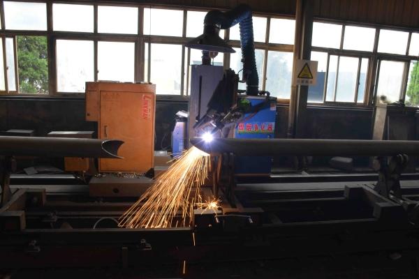 管桁架杆件相贯线下料-网架厂家