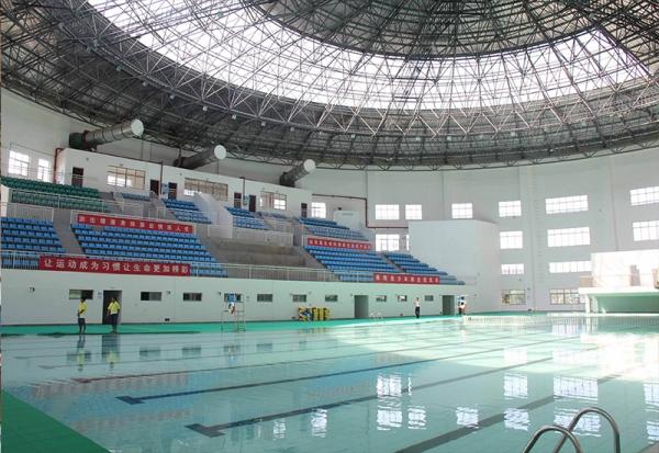 常州奥体中心游泳馆-网架厂家