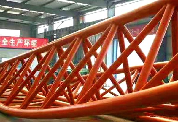 管桁网架加工厂家现场制作