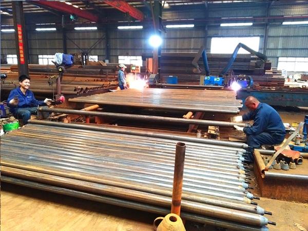 网架加工厂家杆件点焊成型